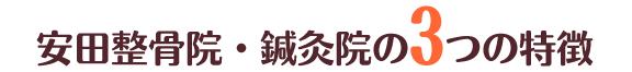 大阪市大正区の安田整骨院・鍼灸院